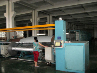 we input 5million USD for the machine, At present, we have 3sets machine for 5m width pvc tarpaulin production line, 2 machine for 3.2m width pvc tarpaulin production